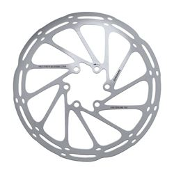 ROTOR CNTRLN 2P 160MM BLACK TI ROUNDED