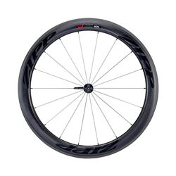 WHEEL ZIPP 404 FRONT CARBON CLINCHER 700C BLACK