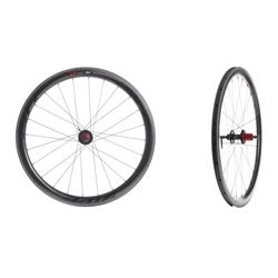 WHEEL ZIPP 303 PAIR TUBULAR DISC 11speed V9 SRAM BLACK SIZE 700C