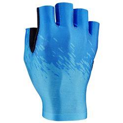 GLOVE SUPACAZ SHORT NEON BLUE/ICE BLUE SIZE M