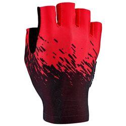 GLOVE SUPACAZ SHORT BLACK/RED SIZE XL
