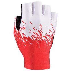 GLOVE SUPACAZ SHORT WHITE/RED SIZE XL