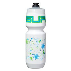 Supacaz Neon Green & Neon Blue Splat Bottle 26oz