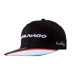 BLACK/RED/WHITE RAP CAP