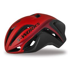 HELMETS SPECIALIZED S-WORKS EVADE CE BLACK/RED ASIA SIZE S/M