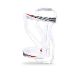 SPECIALIZED ZEE CAGE II LEFT SIDE LOADING WHITE/BLACK/RED
