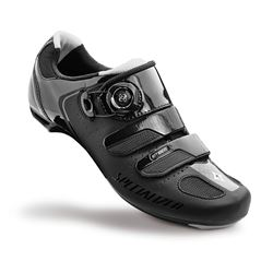 SHOE SPECIALIZED EMBER WMN ROAD BLACK/SILVER 36/5.75