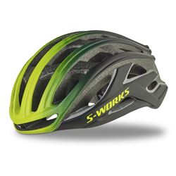 HELMET S-WORKS PREVAIL ll CE BLACK/HYP FADE ASIA SIZE M