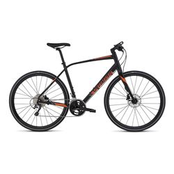 2016 BIKE SIRRUS COMP DISC BLACK/ORANGE/BLACK SIZE S