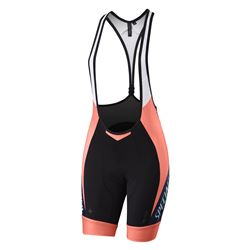 SHORTS SPECIALIZED SL PRO BIB WOMAN NEON CORAL/NAVY TEAM SIZE S