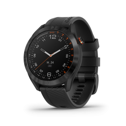 APPROACH S40, BLACK STAINLESS STEEL WITH BLACK BAND