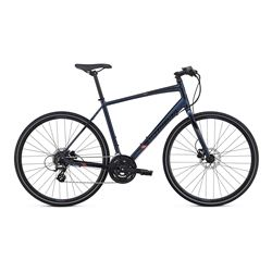 2017 BIKE SIRRUS DISC INT NAVY/BLACK/NORDIC REFLECTIVE SIZE XS