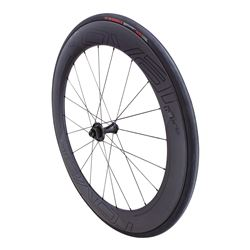 WHEEL SPECIALIZED CLX 64 DISC PAIR SYS SATIN CARBON/GLOSS BLACK
