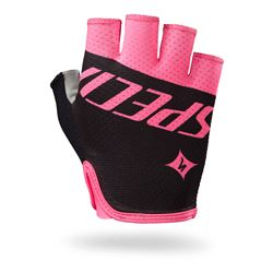 GLOVE SPECIALIZED BG GRAIL SF WOMAN NEON PINK TEAM SIZE M