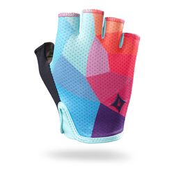 GLOVE SPECIALIZED BG GRAIL SF WOMAN TURQUOISE/GEO FADE SIZE S