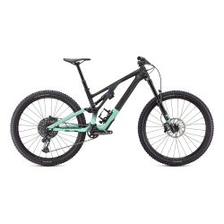 SPECIALIZED STUMPJUMPER EVO EXPERT GLOSS CARBON / OASIS / BLACK SIZE 2