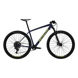 2019 BIKE EPIC HT MEN COMP CARBON 29 BLUE TINT/ION SIZE XS