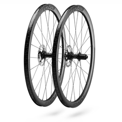 WHEELSET C 38 DISC SATIN CARBON/BLACK