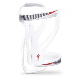 SPECIALIZED ZEE CAGE II RIGHT SIDE LOADING WHITE/BLACK/RED